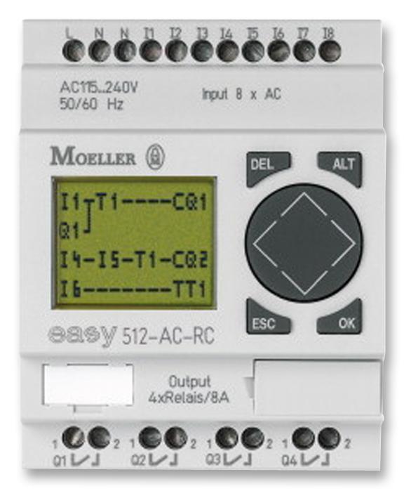 Klockner moeller easy512 programmable ladder-logic plcs